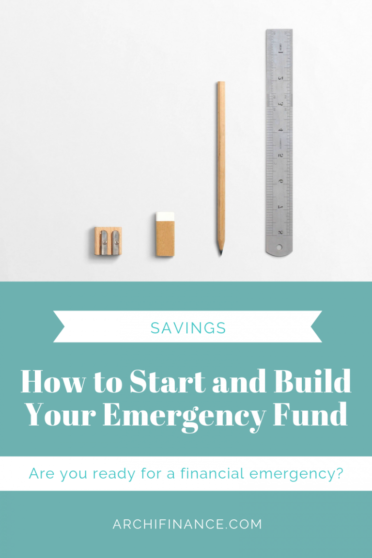 How to Start and Build Your Emergency Fund